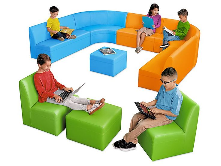 Classroom furniture flexible seating rugs tables