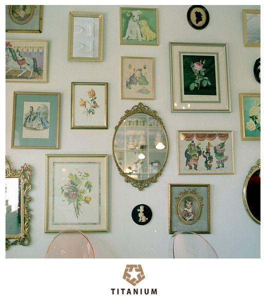 Tendência em decoração 2014: Painel de quadros. http://www.titaniumjeans.com.br/blog/index.php?id=169