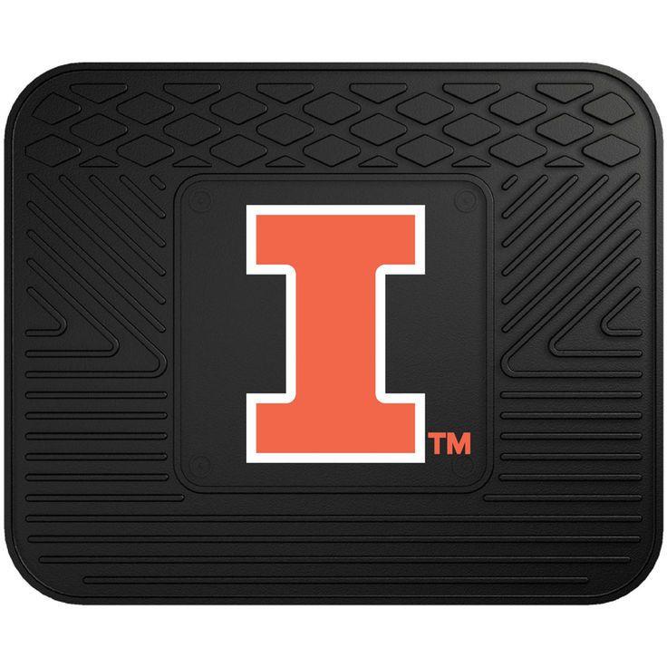 """Illinois Fighting Illini 17"""" x 14"""" Utility Mat - $22.99"""
