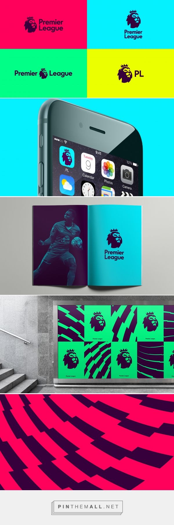 DesignStudio rebrands Premier League – Creative Review.