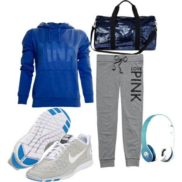 VS PINK gym outfit | Workout Outfits u0026 Gear | Pinterest