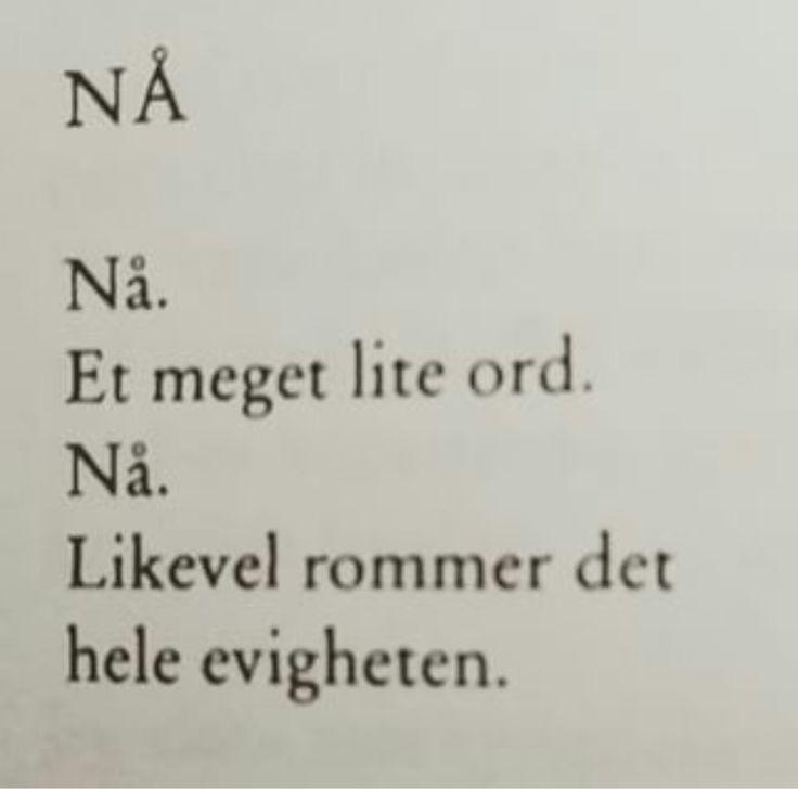 ~Nå~ Hans Børli