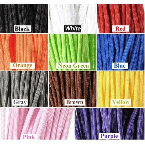 550 Paracord 100ft Nylon Parachute Cord String Rope For Camping Hiking Outdoor #Unbranded