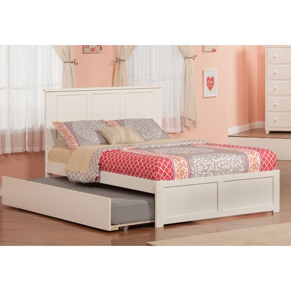 Atlantic Furniture Urban Lifestyle Madison Panel Bed with Trundle & Reviews | Wayfair