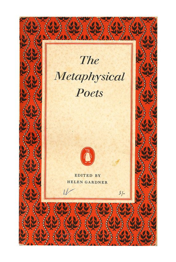 Metaphysical Poets, Penguin Poets. 1957. Available to buy from www.brindled.co.uk