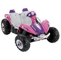 Fisher-Price Power Wheels Barbie Dune Racer
