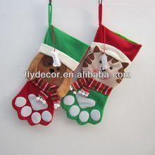 xiamen flydecor perro media de la navidad