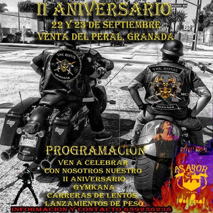 II Aniversario The Ronin MC, en Venta del Peral, Granada