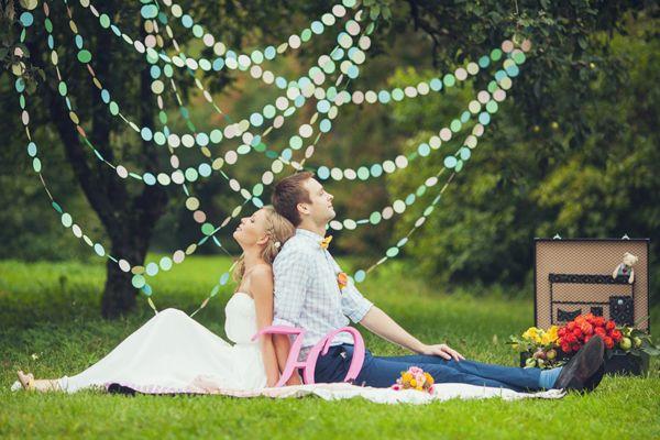 фотосессия пикник на природе