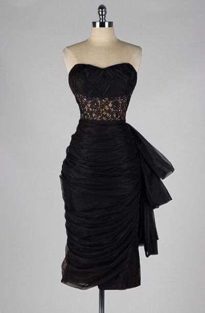 Vestidos de noche 1950