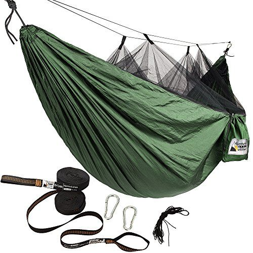 Favorite Camping Gear  | Adventure Gear Outfitter Hammock with Mosquito Net and Tree Straps Green with Black NetAdventure Gear Outfitter Hammock with Mosquito Net and Tree Straps Green with Black Net ** See this great product. Note:It is Affiliate Link to Amazon.
