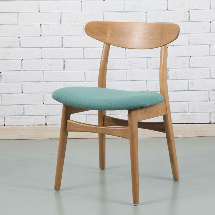 Astrid Solid Oak Dining Chair - Fabric Seat - ICON BY DESIGN #iconbydesign #iconbydesignaustralia #redeemadeal #redadeal