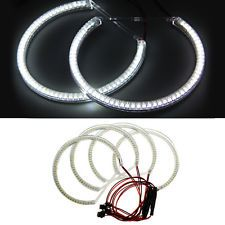 4 X Angel Eyes Halo Lampe 3528 SMD 60 LED Sans Erreur Pour BMW E36/E38/E39/E46