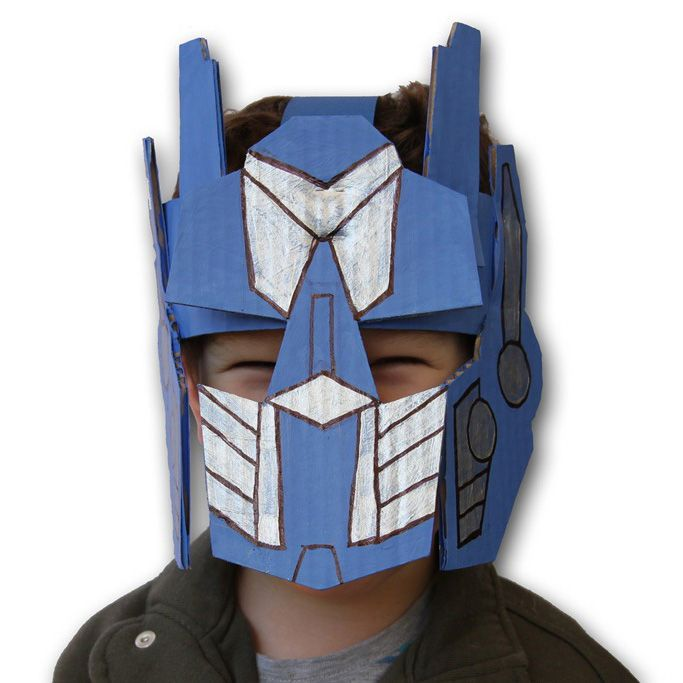 Transformer Mask Template Free Printable Papercraft 186 Best Images About Parties Rescue Bots