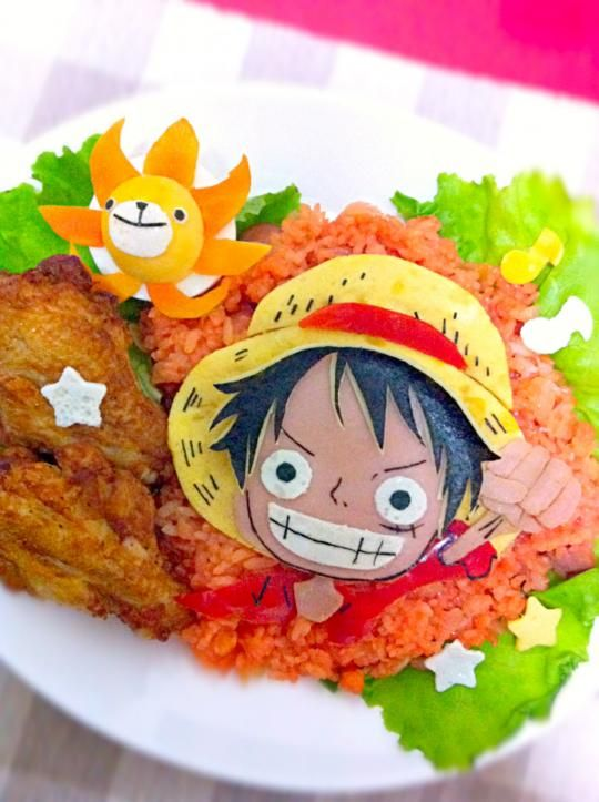 ONE PIECE  omelette rice