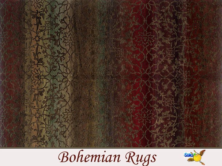 One Of Three Second Hand But Precious Made Rugs To Decorate Your Bohemian Houses Found In Tsr Category Sims 4 Rug Recolors