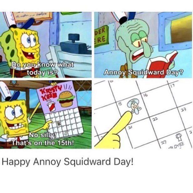 "•TaeKwonDo•Martial Arts• on Instagram: ""Happy annoy squidward day! • • • #spongebob #squidward #happyannoysquidwardday"""