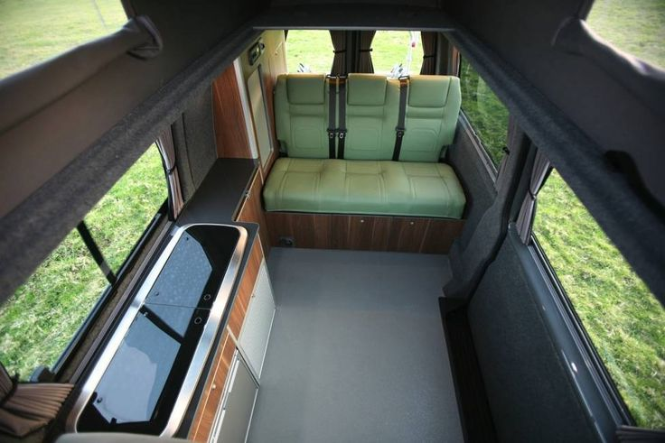 Conversion Gallery | VW T5 Campers | Kitchen Pods | Flat Pack | EVO Design