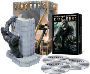 Amazon.com: King Kong (Deluxe Extended Limited Edition DVD Gift Set): Naomi Watts, Jack Black, Adrien Brody, Jamie Bell, Andy Serkis, Thomas...