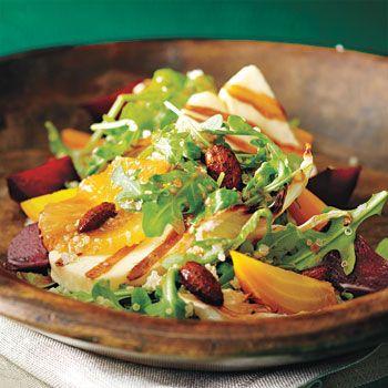 Warm Halloumi Quinoa Salad