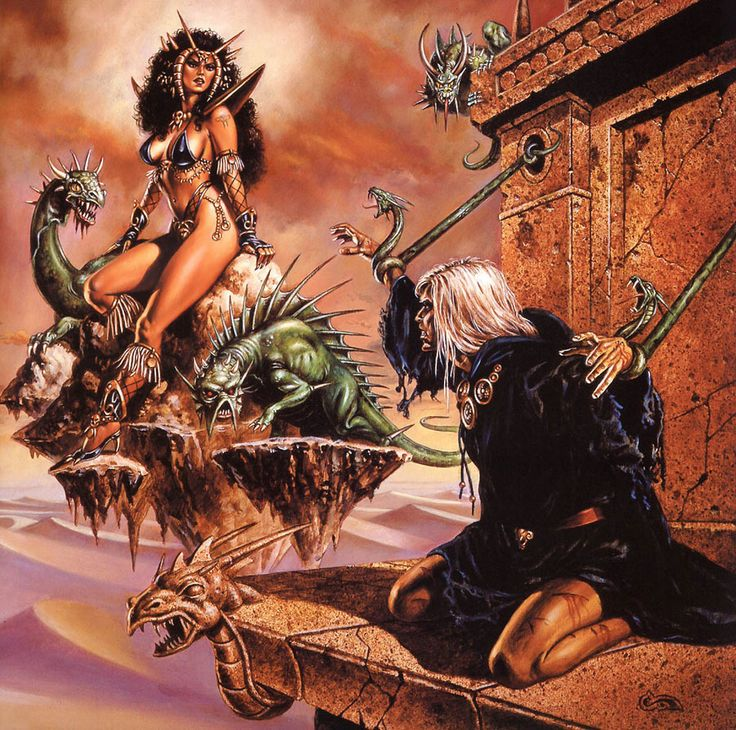 Advanced Dungeons and Dragons Art | Artworks Advanced Dungeons & Dragons: The Dark Queen of Krynn