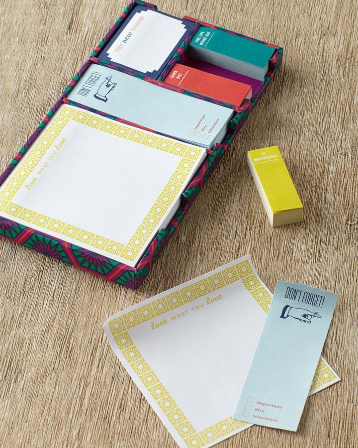 Jonathan Adler Sticky Note Set | Sticky Notes | Pinterest