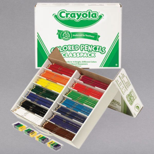 Crayola 688462 Classpack 462 Assorted Colored In 2020 Colored