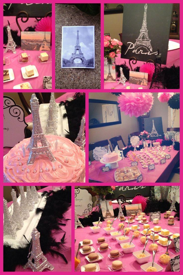 Paris themed birthday party ideas - Paris Themed Birthday