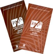 From the naturally exotic  Daintree rainforest region  of Far North Queensland,  comes the world's first origin  chocolate made from  Australian grown cocoa.