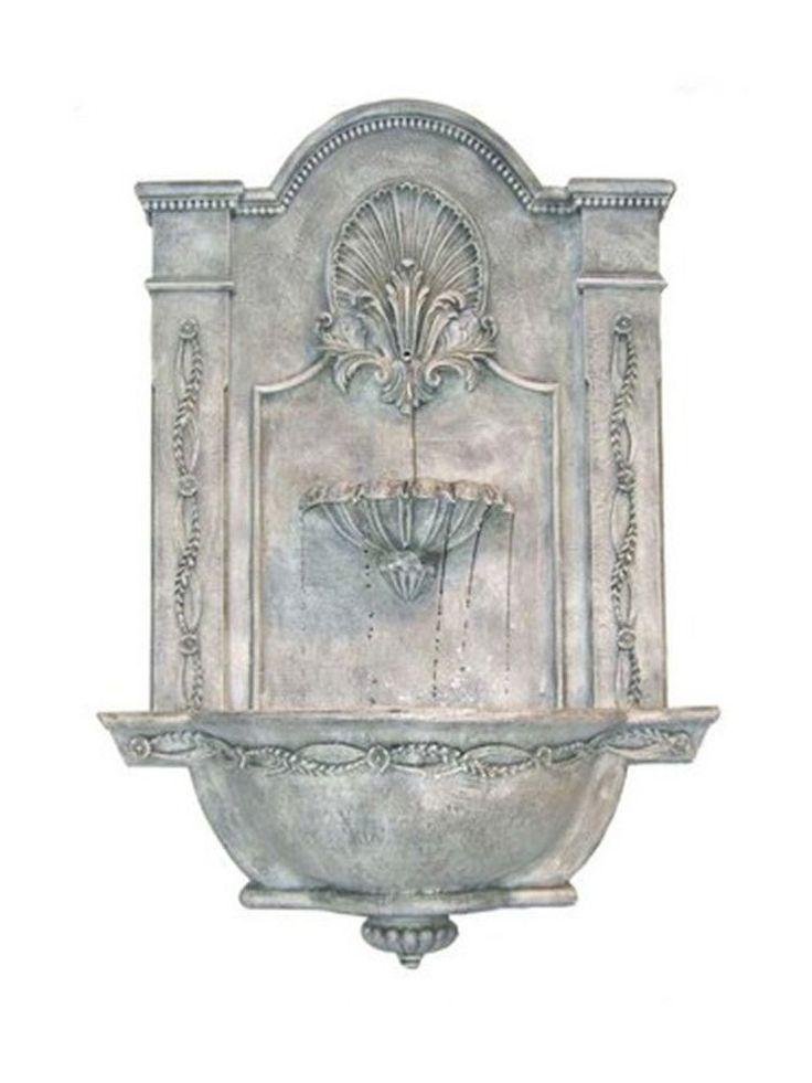 Formal Garden Wall Fountain - Garden Fountains & Outdoor Decor #Wall-HangingFountains