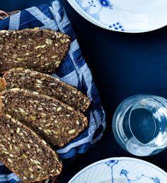 Verdens bedste brød | Rugbrød opskrift | Bondebrød | Kernerugbrød | Bobedre.dk