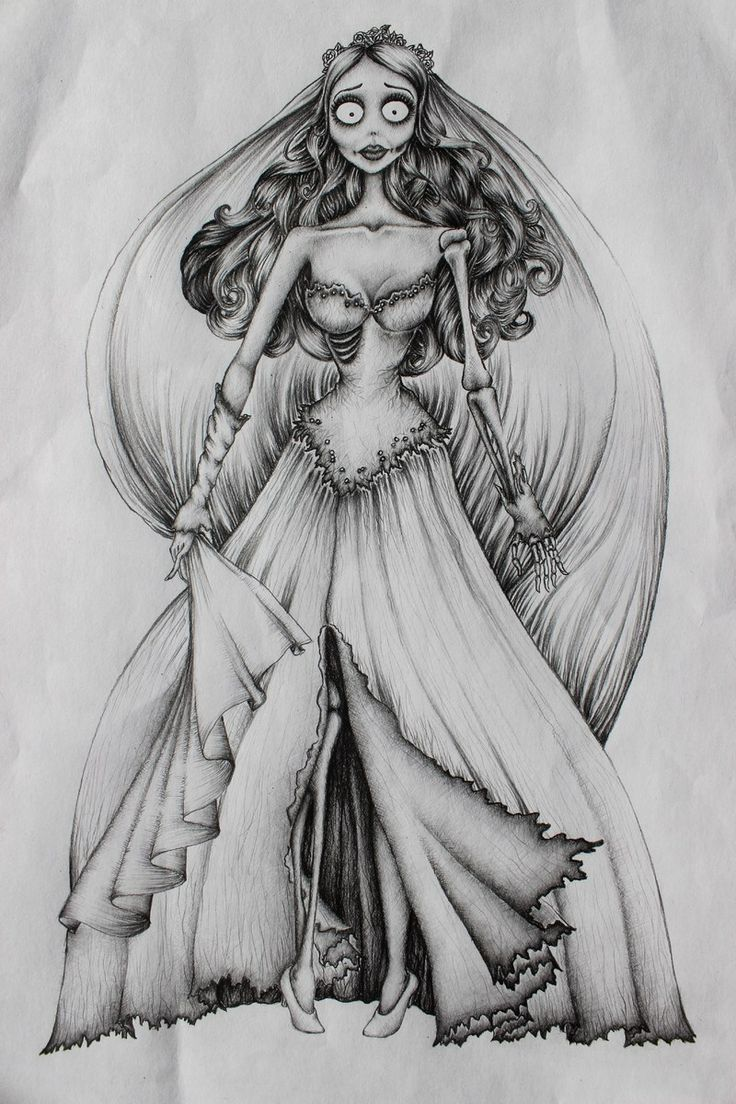 Tatto Ideas 2017  Corpse Bride Tattoo Design on The Loop