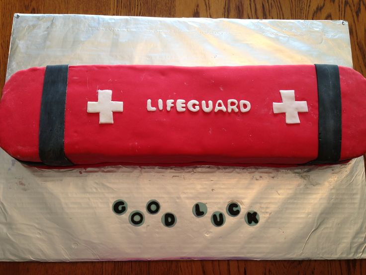 Lifeguard cake -- @Sydney Martin Martin Martin Bump and @LindsaySchlep  let's make this!!!!!!!!!!!!!!