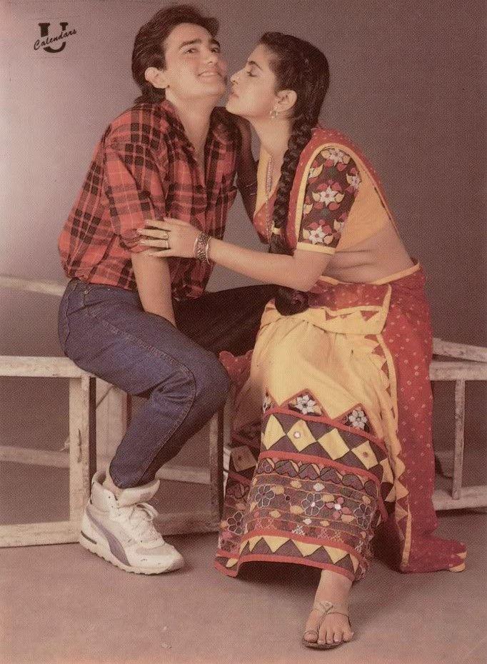 Aamir Khan & Juhi Chawla
