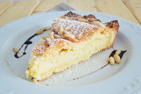 Torta della Nonna, az olaszok kedvenc krémmel töltött pitéje