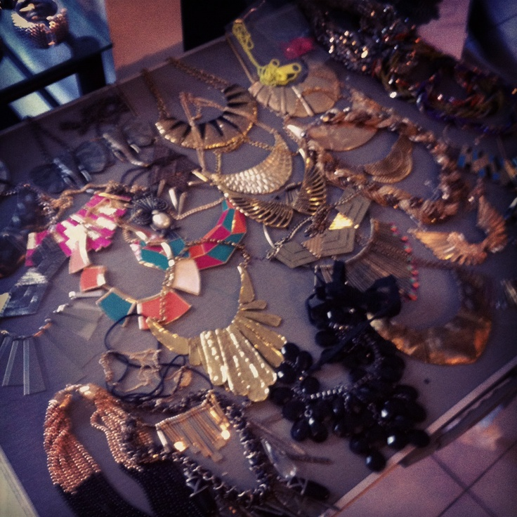 Jewellery selection for latest photoshoot