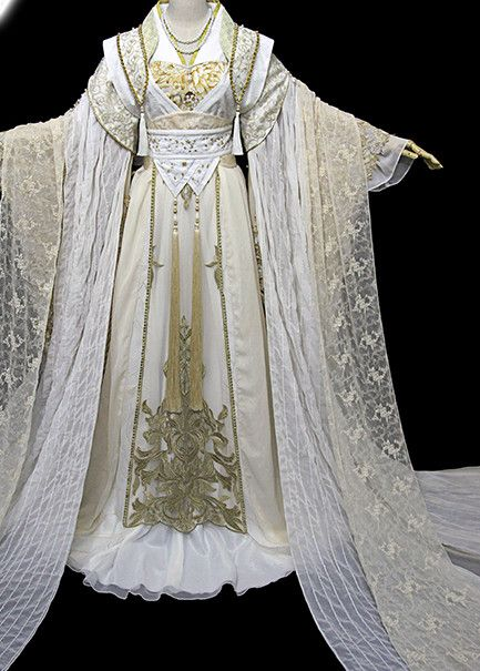 Ancient Chinese Stage Palace Empress Costume National Costume Halloween Costumes Hanfu Chinese Dresses Chinese Clothing