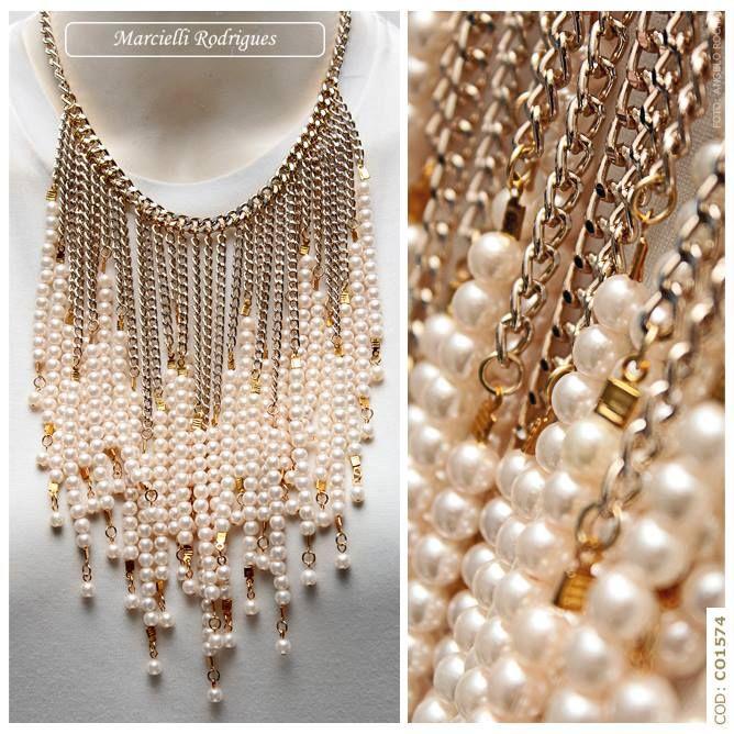Perlas y cadenas