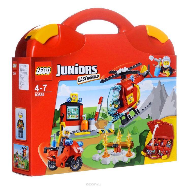 Купить lego juniors конструктор чемоданчик пожар - детские товары LEGO в интернет-магазине OZON.ru, цена lego juniors конструктор чемоданчик пожар.