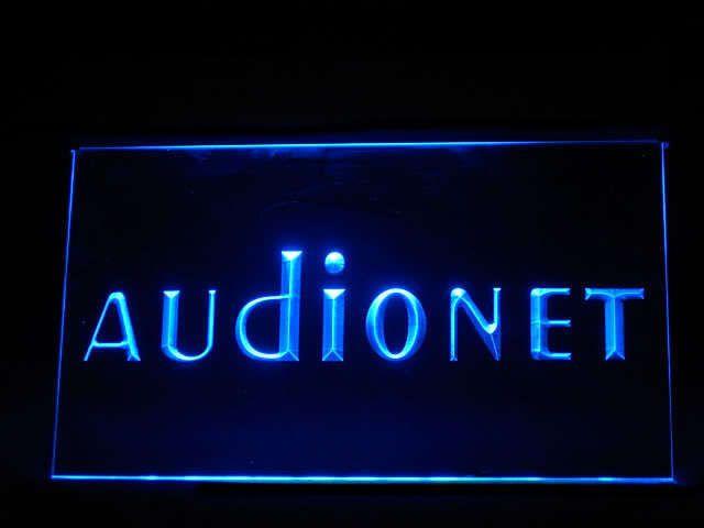 Audionet LED Light Sign www.shacksign.com