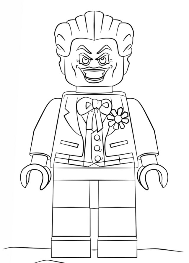 Batman Mini Coloring Book Coloring Pages