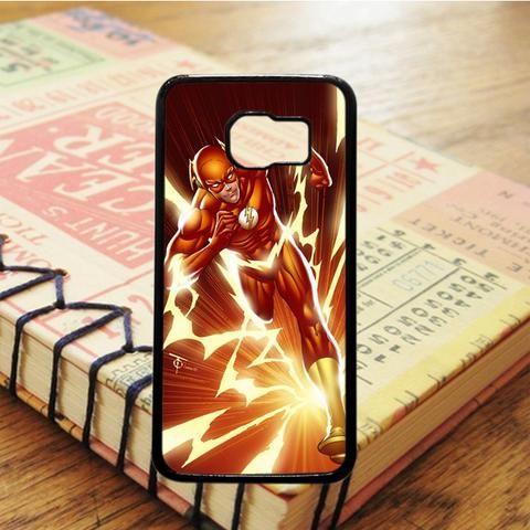 Marvel Superheroes The Flash Samsung Galaxy S7 Edge Case