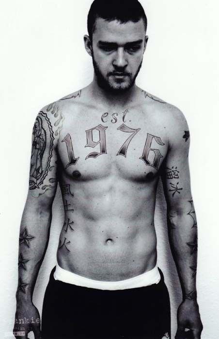 Justin Timberlake tattooed up! I like! | picturess ...