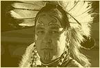 Native American man in full regalia Trail of Tears Interactive Map