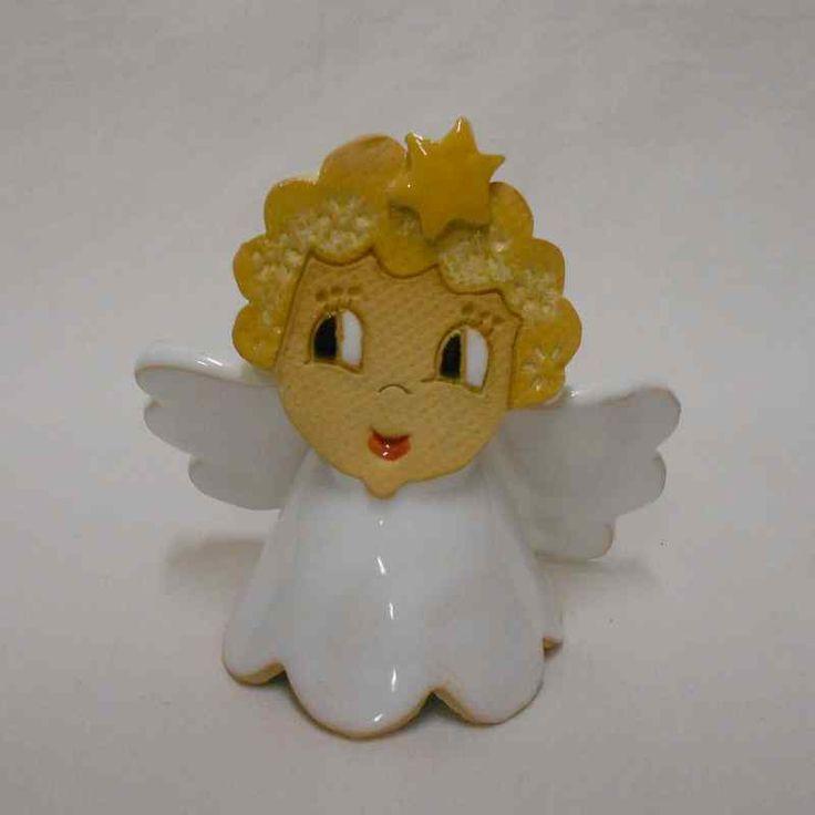 Keramika   Keramické zvonky a figurky   Zvonek anděl 9 cm   ADO dárky - e-shop s dárky pro každého