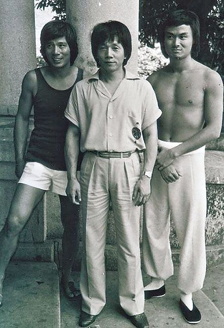 """The 36th Blogger of Shaolin. Lau Kar Wing, his brother, Lau Kar Leung, and their """"adopted"""" brother, Gordon Liu aka Lau Kar Fai."""