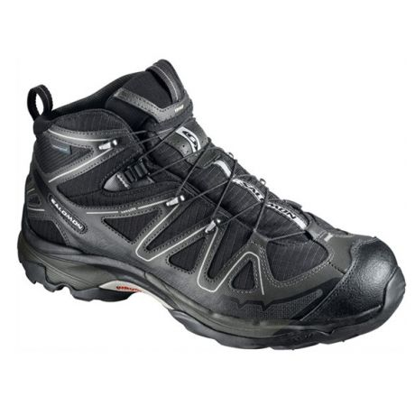 Keep your feet dry and protected with the waterproof Salomon X Tracks Mid boots which are agile and cushioned like running shoes, but with the stability and support of a mid-cut hiking boot.