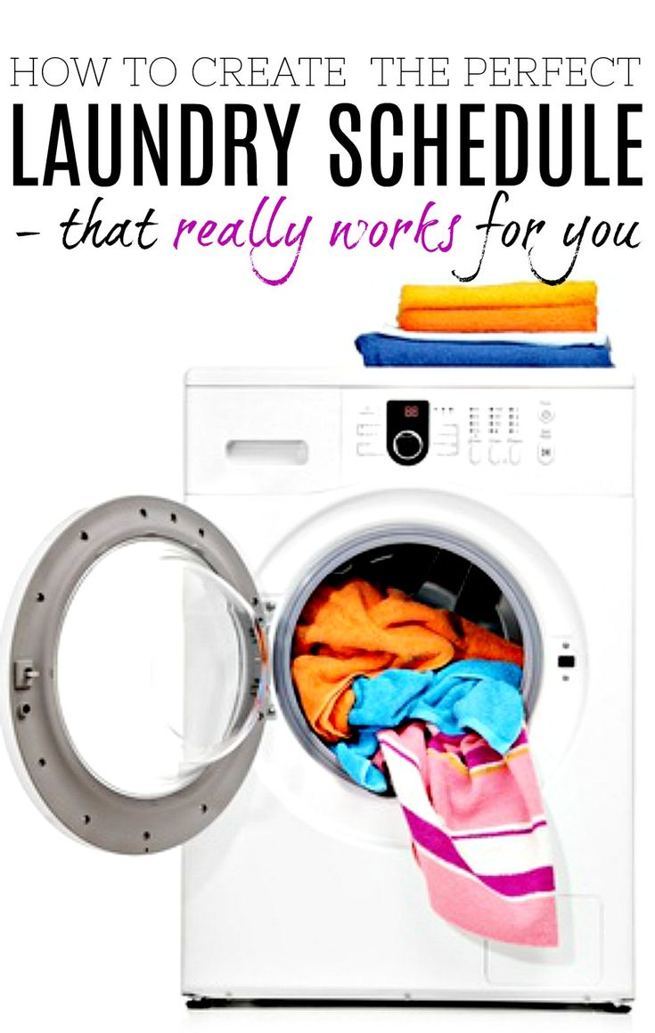 Step by step guide to create a laundry schedule that really works - for your time and your home. Work through the steps and create a laundry routine that makes life really easy.