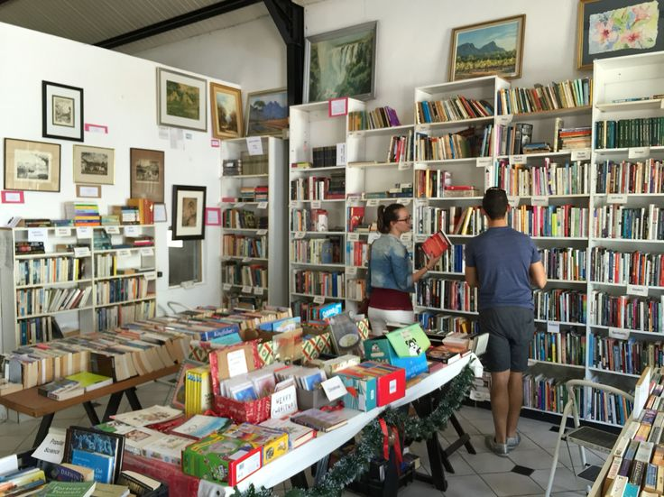 Bookshops make me happy. This one is tucked away in Franschhoek