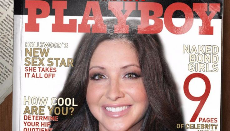 """Playboy Enterprises announced that Bristol Palin will be featured in its last """"frontal"""" issue."""